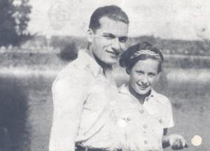 Jura Soyfer und Marika (Maria) Szécsi, Anfang der 1930er-Jahre. (c) DÖW